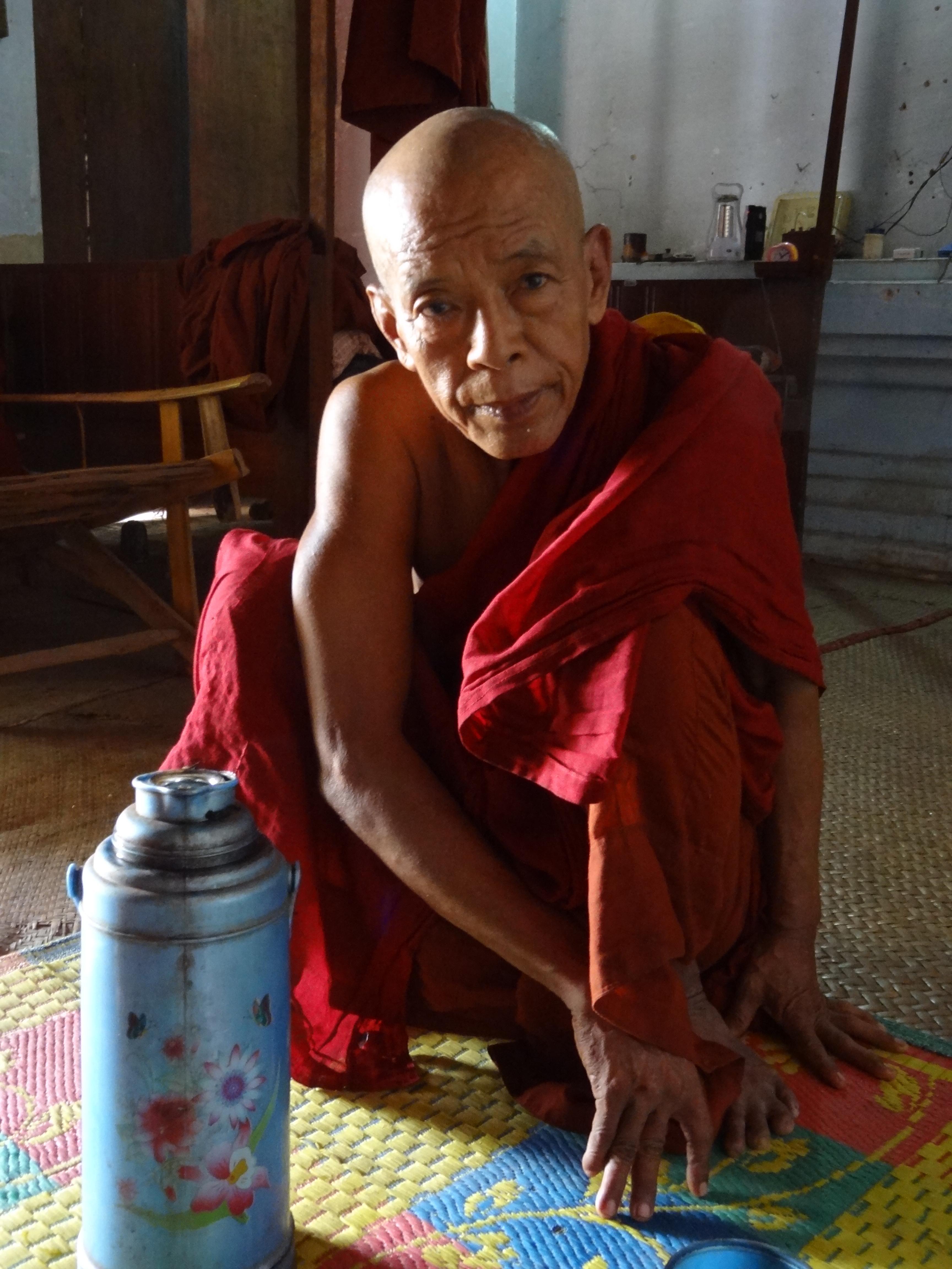 Myanmar Sitting Buddha