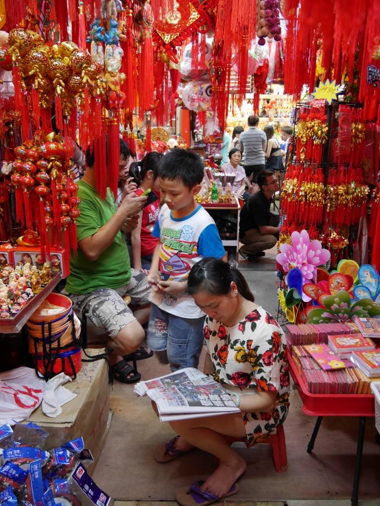 Singapore Chinatown Shop