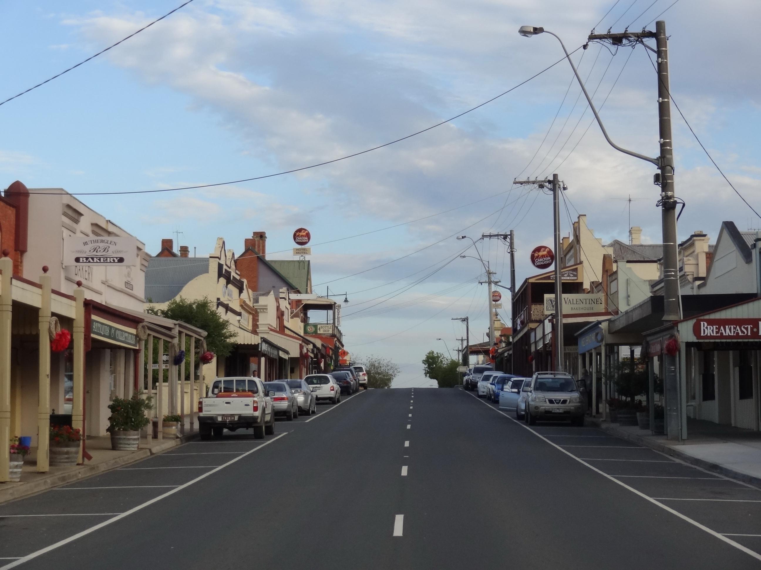 Australia Street Rutherglen