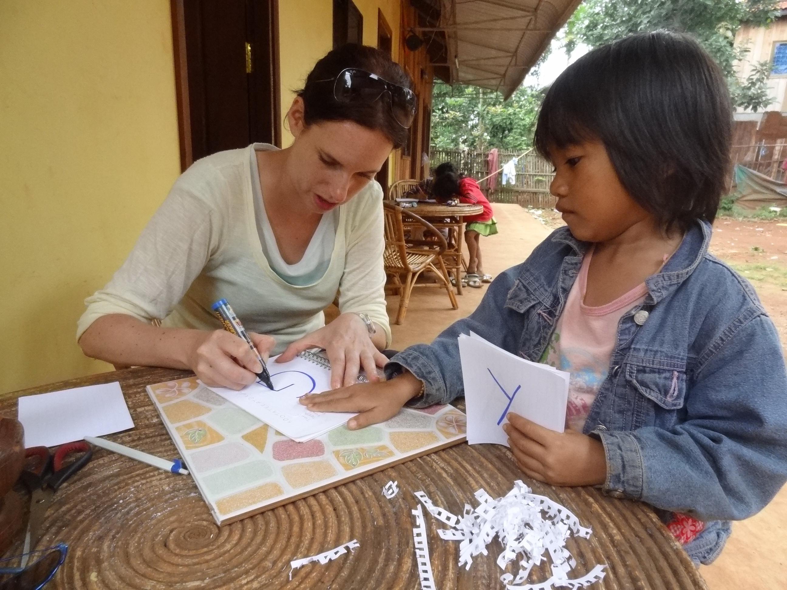 Cambodia Class Preparation