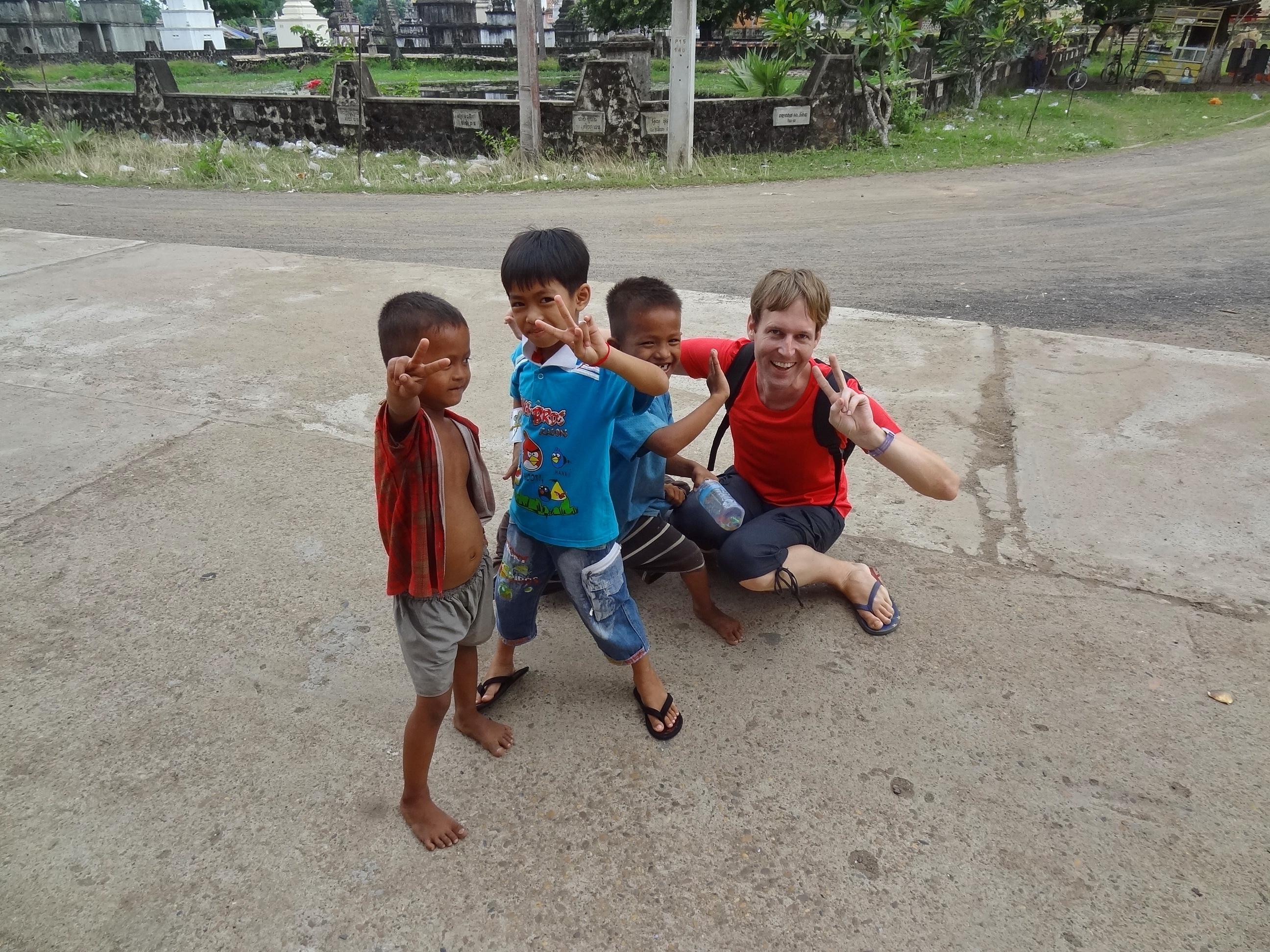 Cambodia Playing Kids