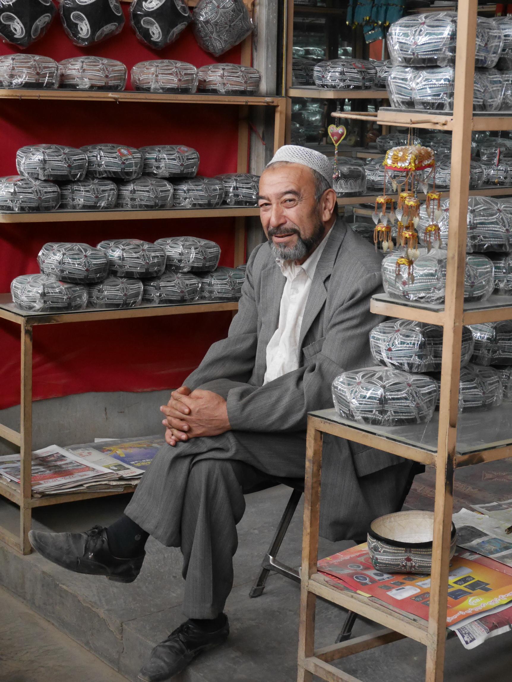 Xinjiang Hat Seller_resize
