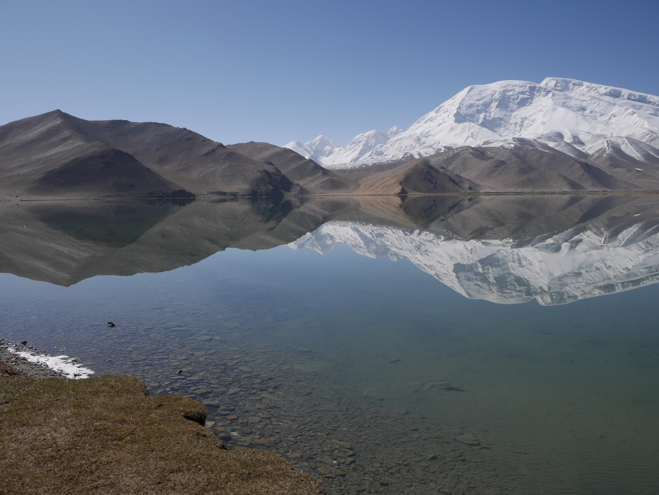 Xinjiang Karakul Lake Reflection_resize