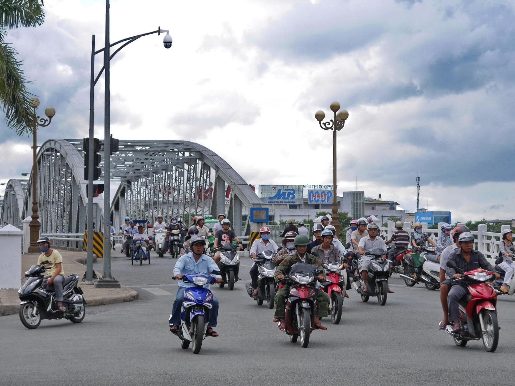 Vietnam Hue Traffic